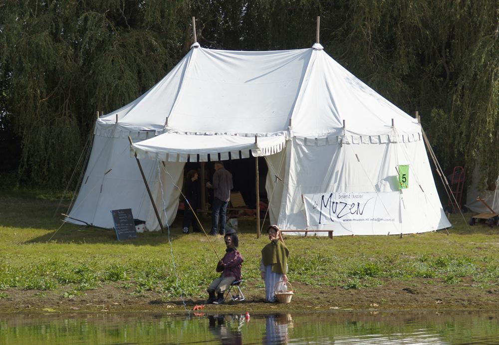 Middeleeuwse tent Windsor