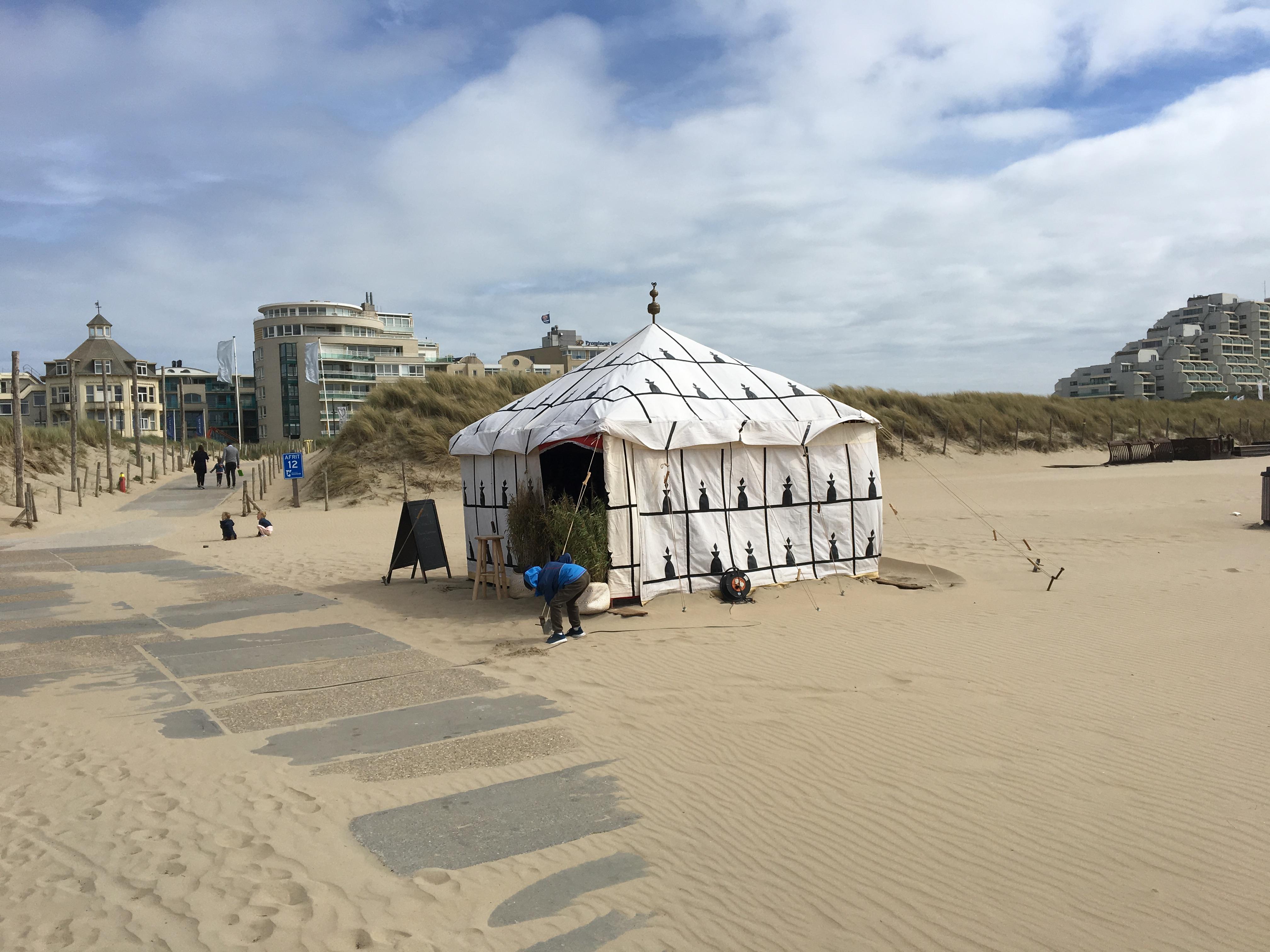 Marokkaanse tent 4 x 4 m | Muzen Tentverhuur