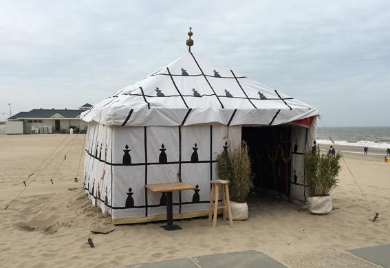 Marokkaanse tent