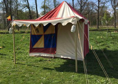 Middeleeuwse tent Palamedes 2