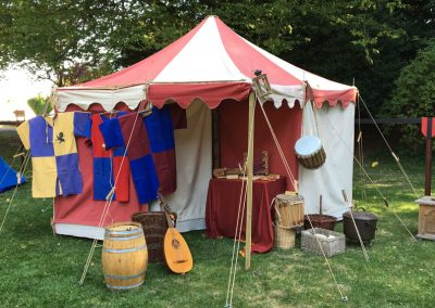 Middeleeuwse tent Palamedes 3