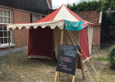 Middeleeuwse tent Palamedes 4