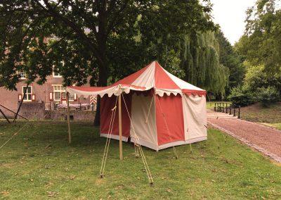 Middeleeuwse tent Palamedes 5
